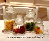 Amostra grátis Grau Alimentício 500ml jarro de vidro com tampa de vidro