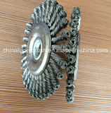 4inch Steel Knot Wire Wheel Brush (YY-589)