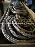 물결 모양 관 및 스테인리스 철사 끈목 유연한 금속 호스