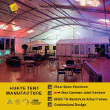 ألومنيوم [أركم] خيمة مع أبيض [بفك] سقف تغطية & [غلسّ ولّ] ([هك])
