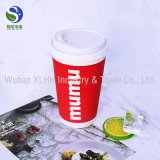 Papiercup Taiwan_Ripple einzelnes doppel-wandiges Papiercup Taiwan_Paper Kaffee-Karton-Cup