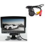 """Mini cámara de opinión trasera del coche y monitor 7 de TFT LCD """""""