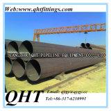 Q235Bのスケジュール40カーボンLSAWによって溶接される黒い円形の鋼鉄黒い管