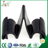 Cachetage noir de porte en caoutchouc de silicones de PVC d'EPDM pour le véhicule