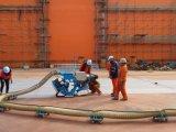 道のショットブラスト機械の防水処置機械