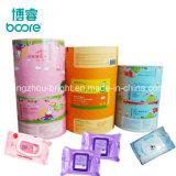 Nat veegt het Reinigen van de Baby af afveegt Verpakking van het Aluminium van de Sachets van het Pakket de Plastic