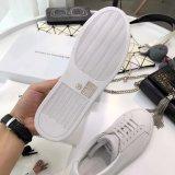 Schoenen van de Sport van de Tennisschoenen van het Leer van de manier de In te ademen Toevallige Lopende Witte