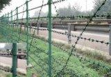 Barbelé utilisé pour la frontière de sécurité d'inducteur dans les militaires et la prison