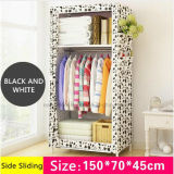 De eenvoudige Kabinetten die van de Opslag van de Baby van de Garderobe van de Doek de Individuele Kleine Garderobe van het Staal vouwen (fw-31)