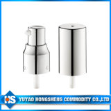 Bouteille de cosmétiques de la pompe d'aluminium