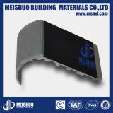 Sicherheits-Aluminiumtreppe, die mit schwarzer Karborundum-Einlage riecht
