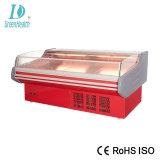 Energiesparender Supermarkt-Frischfleisch-Schaukasten mit Luft-Vorhang