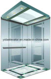 Lo specchio ha inciso l'elevatore del passeggero dell'acciaio inossidabile (YDJ-O2-6)
