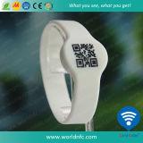 Maak de Manchet van het Silicone van de Markering van 13.56 Mhz RFID waterdicht