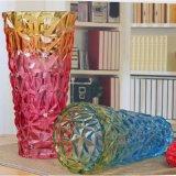Vaso di vetro colorato
