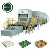 Hghy voll automatisches Papiermassen-Ei-Tellersegment, das Maschinen-Ei-Karton-Produktionszweig bildet
