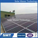 Установка соединения на массу солнечных фотоэлектрических панелей для соединения на массу системы для установки в стойку для установки в стойку
