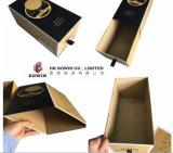 Hoher neuer Entwurfs-volles Drucken Matt, der faltenden Fach-Tee-Kasten mit Farbband-Griff-Sammelpack handhabt