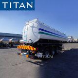 Titaan 2/3 As 45000 Fueltanker/Diesel/Olie/Benzine/de Tanker van het Nut/de Semi Aanhangwagen van de Tractor van de Tankwagen