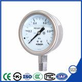 正確さ1.5%とのエクスポートのためのISOの証明の圧力計の圧力計