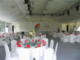 白いPVC屋上の贅沢な屋外のイベントのテントの結婚披露宴のテント
