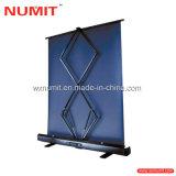 Schneller Falten-Projektions-Bildschirm-Fußboden-Standplatz-Projektor-Bildschirm mit Aluminiumfall