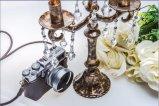 Стеклянный держатель для свечи с 5 столбами SGS (9.5*24*31.5)