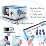 Strumentazione appiattita di terapia dell'onda di urto di Eswt dell'aria della strumentazione di fisioterapia BS-Swt5000