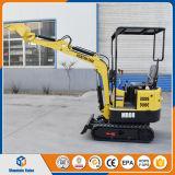 中国の安く小さい坑夫の機械販売のための掘る機械0.8ton小型掘削機