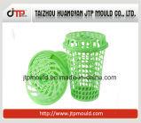 Moulage en plastique de panier de blanchisserie de qualité avec le couvercle