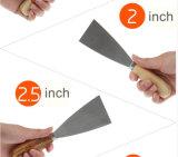 각종 크기를 가진 벽 훈장을%s 퍼티용 흙손 공구