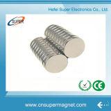 Magnete personalizzato del cilindro Ni-Cu-Ni della terra rara