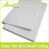 高品質の木製カラーアルミニウム線形屋根の天井