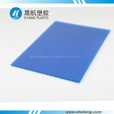 UV Layer를 가진 파랑과 Green 쌍둥이 Wall Polycarbonate Sheet