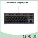 7 цветов Красочные светодиодной подсветкой Эргономичный Подсветка клавиатуры Механическая Игровые