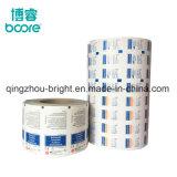 Papel laminado de aluminio para la descarga de las uñas, toallitas de papel de aluminio.