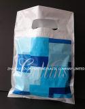 Gestempelschnittene Griff-bunte PlastikEinkaufstasche