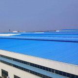 Peinture couleur des matériaux de construction en acier galvanisé ondulé la plaque de tôle de toit