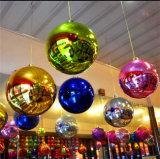 ショー/党/おかしい/装飾のための膨脹可能なミラーの球をカスタマイズしなさい