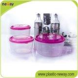 Дешевые Custom пластиковый прозрачный круглый контейнер для продуктов питания