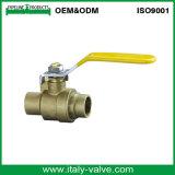 600wog黄銅によって溶接される品質の球弁(AV1020A)