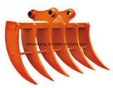 掘削機のバケツ、幼虫の小松日立Kobelcoの構築の機械装置部品のためのグラブ