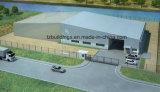 Edificio fabricado del almacén de la estructura de acero con el mejor precio