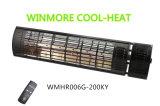 Cuarzo portátil de acero inoxidable resistente al agua de calefacción calefacción por infrarrojos