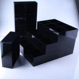 ベルトのためのカスタム黒いアクリルの収納箱