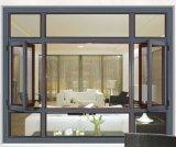여닫이 창 스테인리스 비행거리 스크린 (ACW-013)를 가진 오스트레일리아 표준 현대 디자인 알루미늄 여닫이 창 Windows