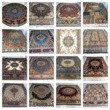 Neu Handgefertigter Seiden Teppich