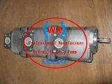 La costruzione genuina degli autocarri con cassone ribaltabile di KOMATSU parte la pompa a ingranaggi dell'idraulica Hm350 Ass'y 705-56-34590