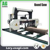 大きい水平バンド製材所の販売のためのディーゼル木製の鋸引き機械