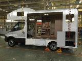 El omnibus barato de la alta calidad que solaba la película antirresbaladiza hizo frente a la madera contrachapada en venta